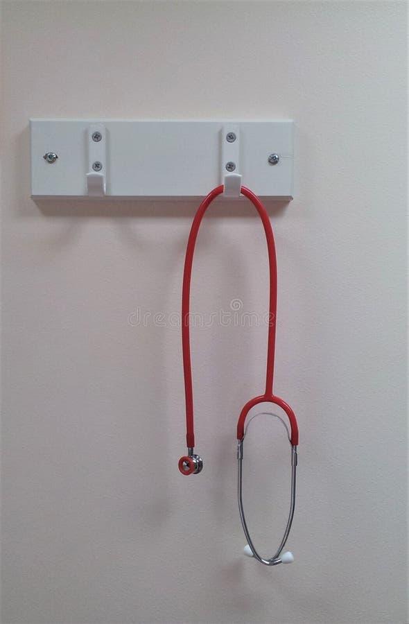 Neugeborenes Stethoskop stockfoto