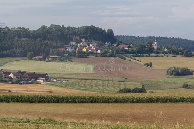 Neukirchen在巴伐利亚 库存图片