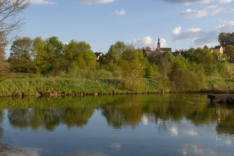 Neukirchen in Baviera fotografia stock libera da diritti