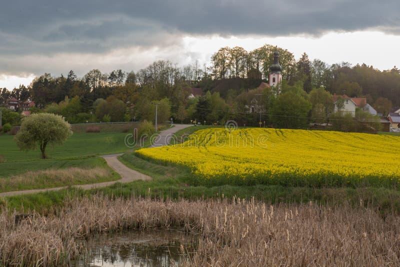 Neukirchen in Baviera fotografie stock