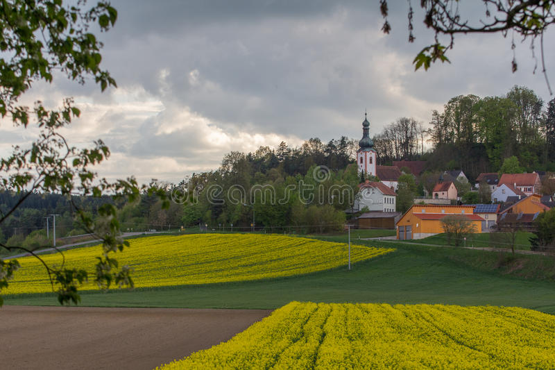 Neukirchen in Baviera immagini stock libere da diritti