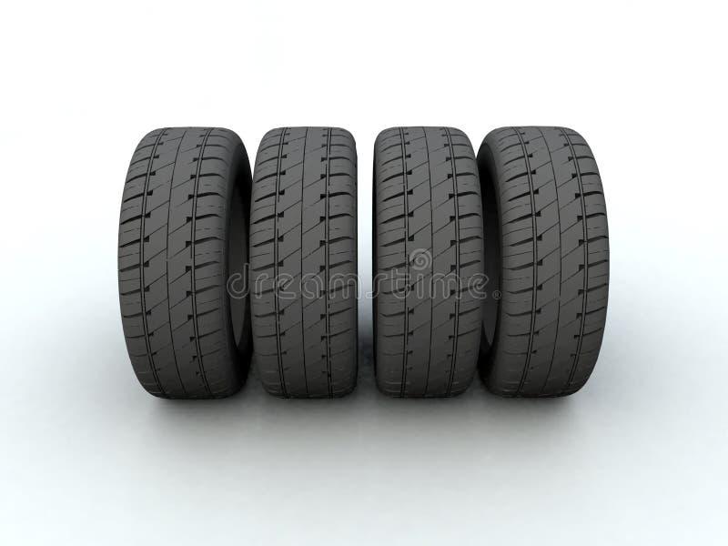 Neumático stock de ilustración