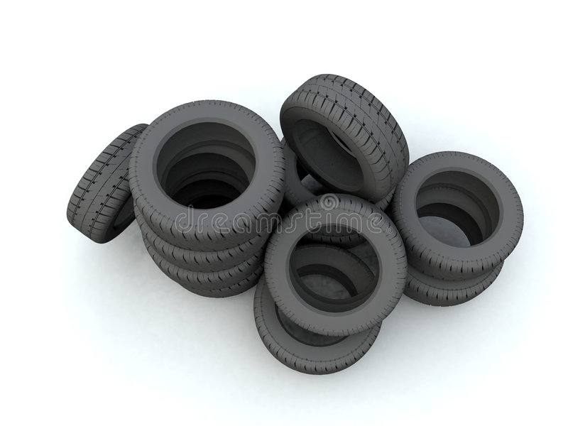 Neumático libre illustration