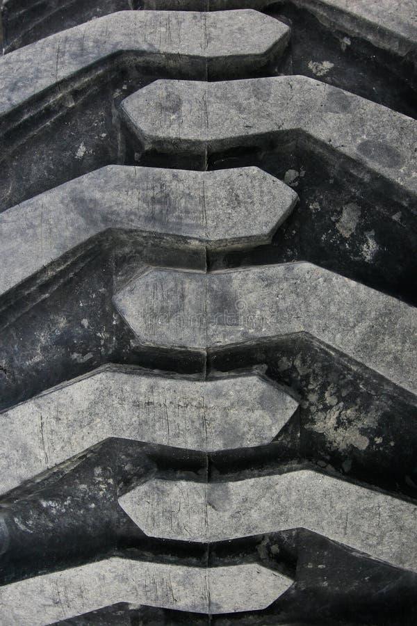 Neumático campo a través áspero foto de archivo