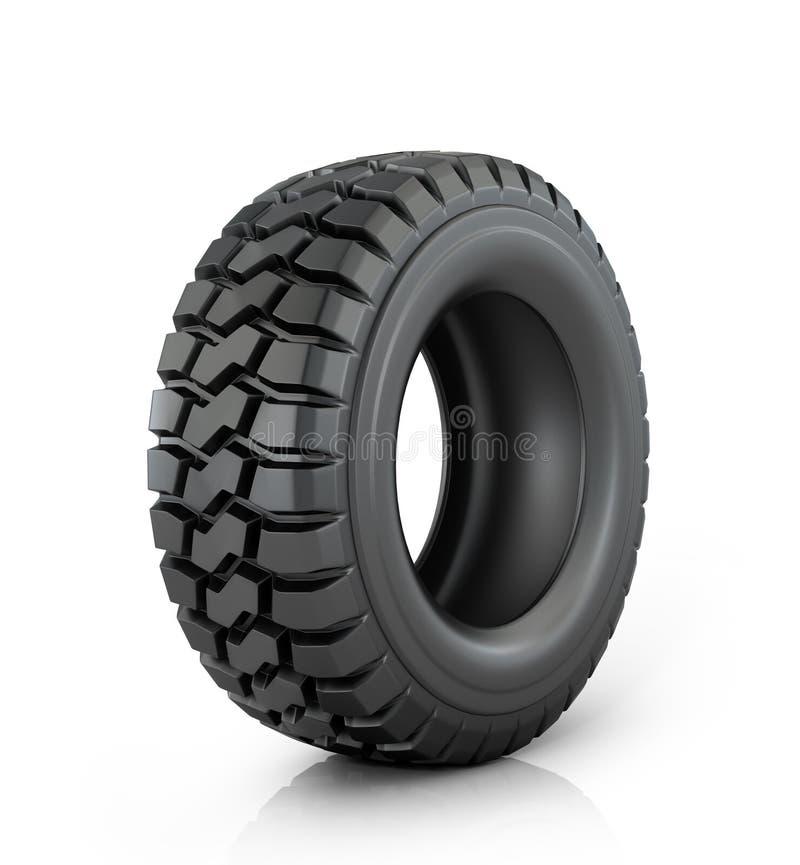 Neumático de coche stock de ilustración