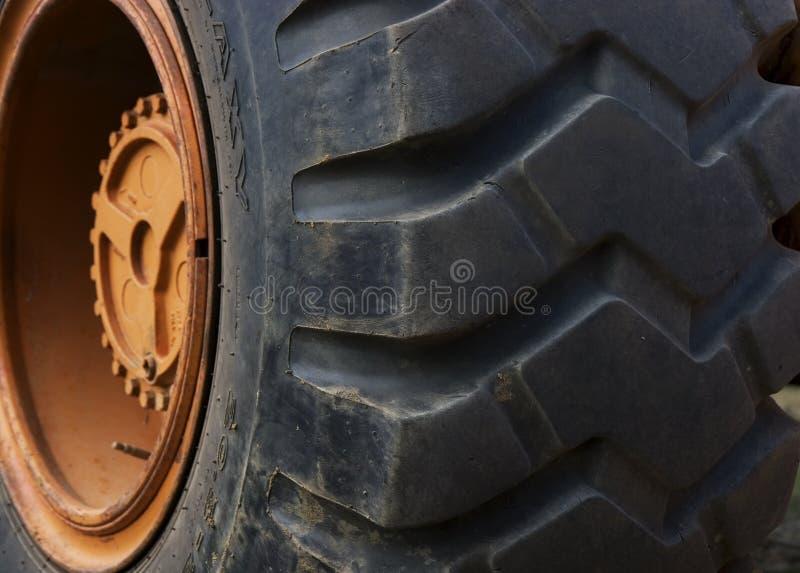 Neumático del alimentador foto de archivo