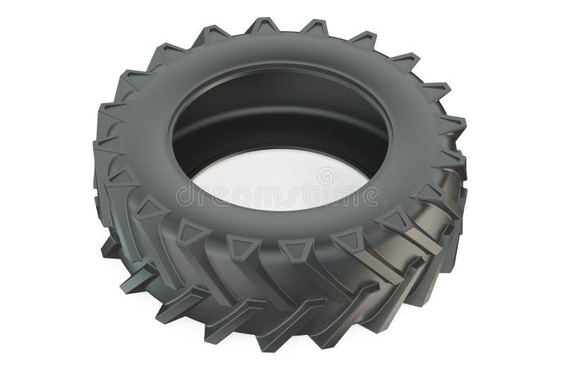Neumático del camión o primer del neumático del tractor ilustración del vector