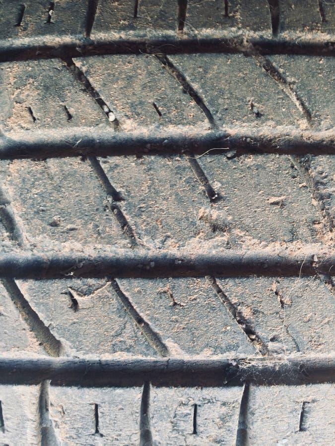 Neumático sucio fotos de archivo