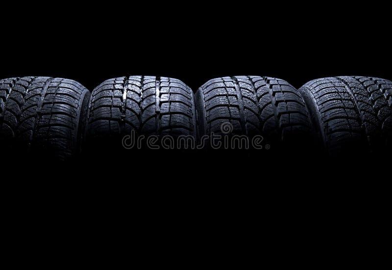 Neumáticos de coche fotos de archivo libres de regalías