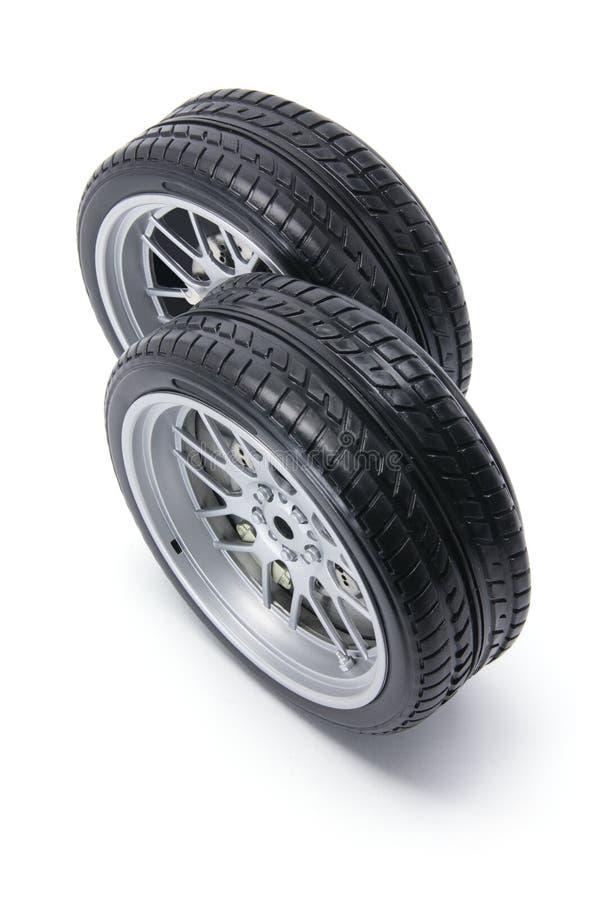 Neumáticos miniatura foto de archivo