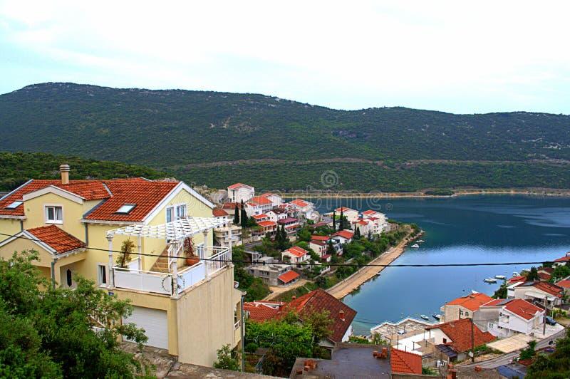 Neum fjärd, Bosnien och Hercegovina royaltyfri bild
