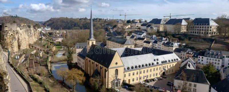 Neumunster修道院和Grund 免版税库存图片