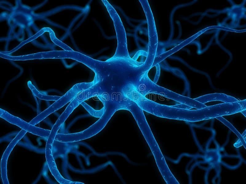 Neurônio ilustração stock