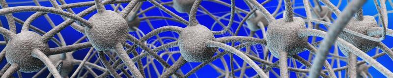 Neurales Netz vektor abbildung