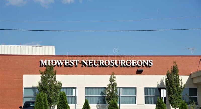 Neurocirujanos de Cercano oeste, Missouri imágenes de archivo libres de regalías