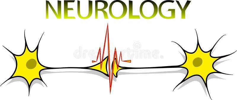 Neurologilogo royaltyfri illustrationer