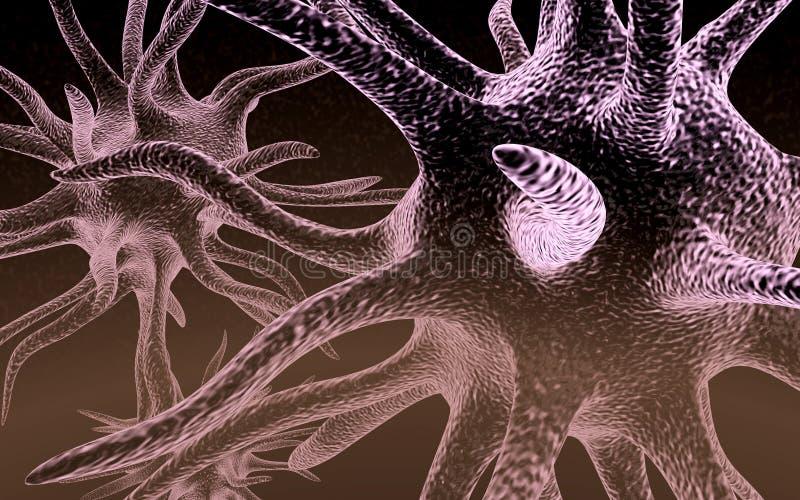 Neuron royalty-vrije illustratie