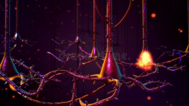 Neuronas fotos de archivo