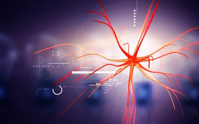 neurone illustration de vecteur