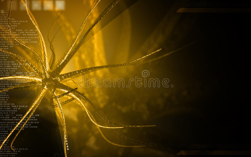 neurone fotografia stock