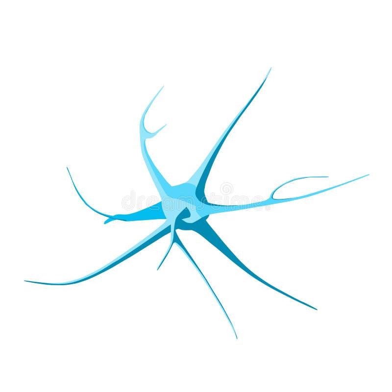 neurone Illustrazione isometrica illustrazione di stock