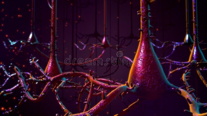 neurony zdjęcie stock