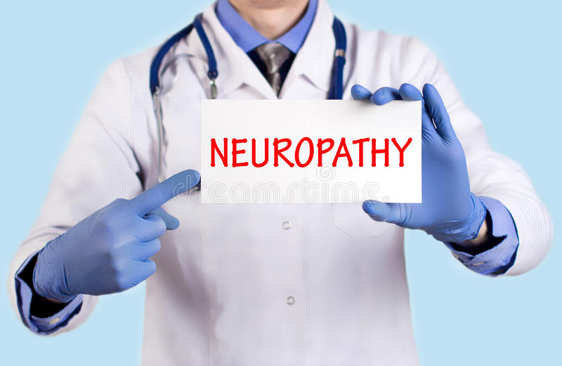 Neuropathie lizenzfreie stockfotografie