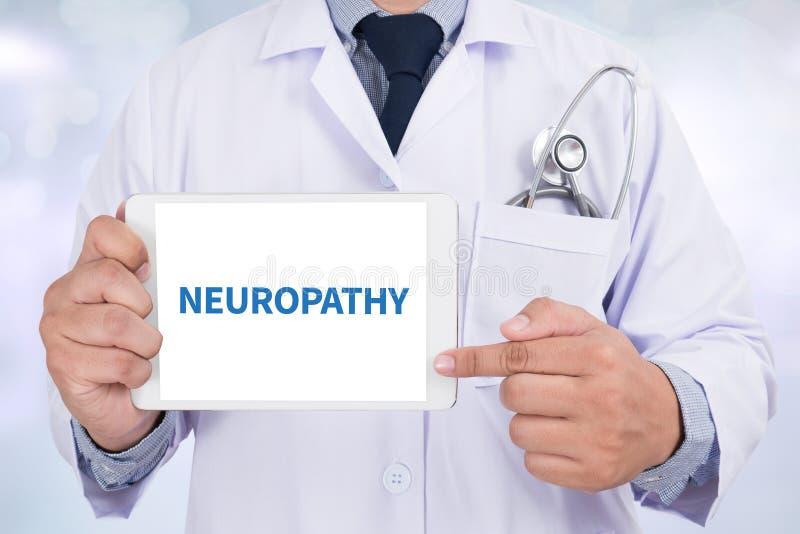 Neuropathie illustration stock