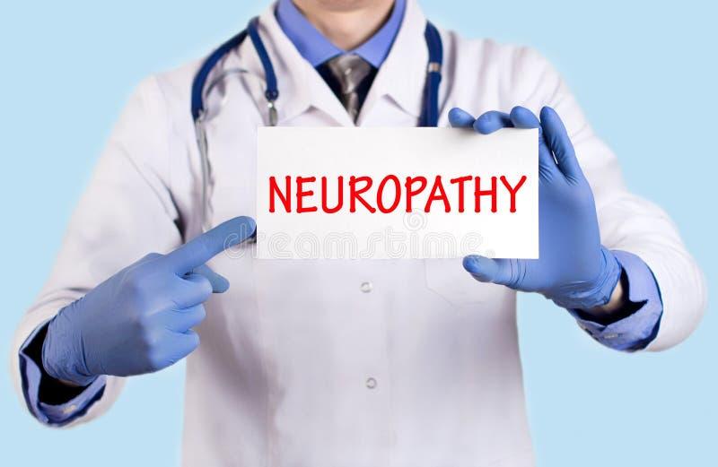 Neuropatia fotografia royalty free