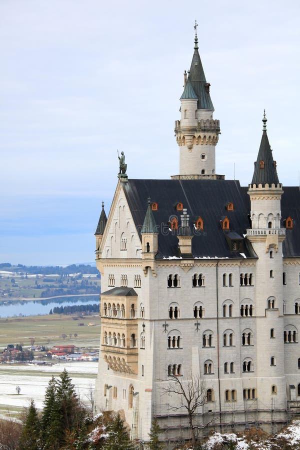 neuschwanstein Германии замока стоковые изображения rf