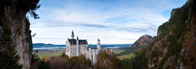 Neuschwanstein royalty-vrije stock afbeeldingen
