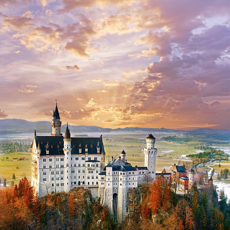 Free Neuschwanstein, Beautiful Fairytale Castle Near Munich In Germany Stock Photos - 67063863