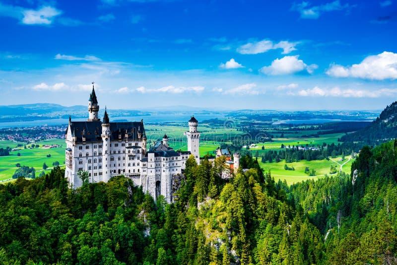 Neuschwanstein Burg New Swanstone stockfotografie