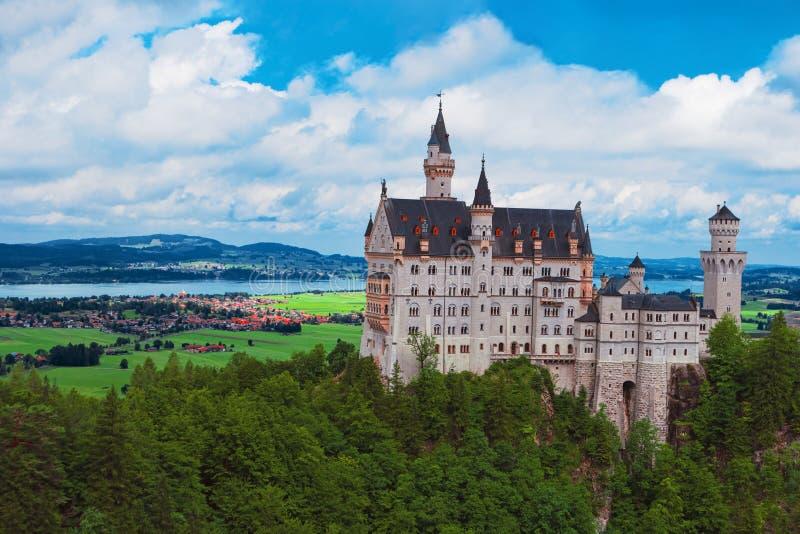 Neuschwanstein Castle, Βαυαρία, Γερμανία, Ευρώπη στοκ εικόνα
