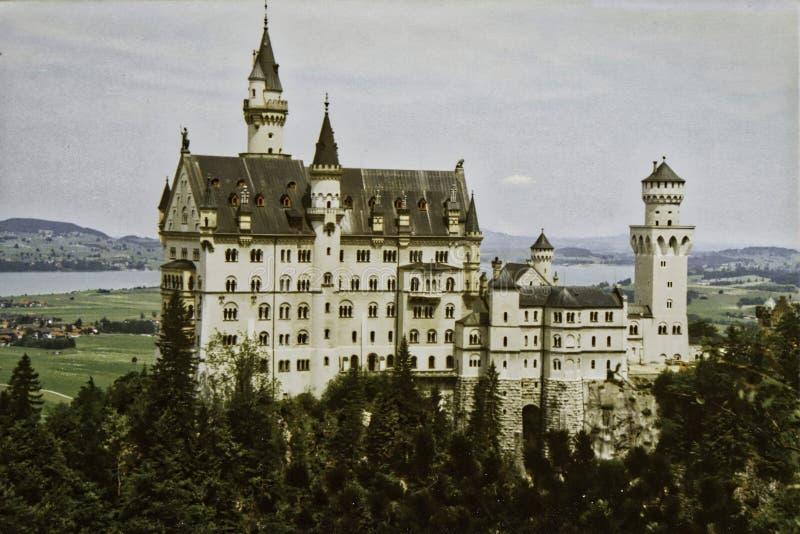 "Neuschwanstein Castle, Ï""Î¿ 19Î¿ Romanesque Castle στη Βαυαρία, Γερμανία στοκ εικόνες"