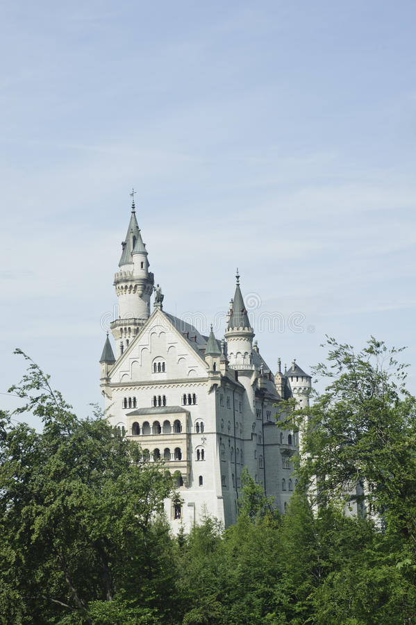 Free Neuschwanstein Castle . Royalty Free Stock Photo - 23383295