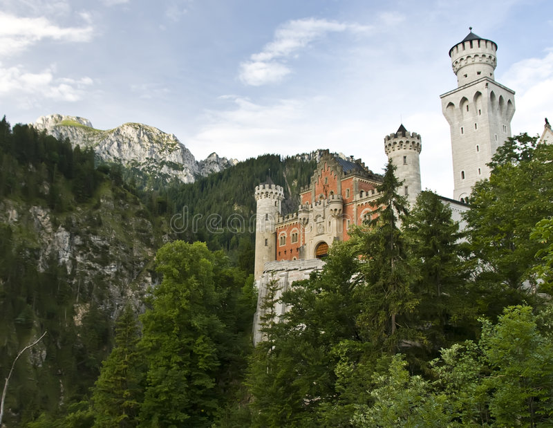 Download Neuschwanstein castle stock photo. Image of fairy, castle - 6016760