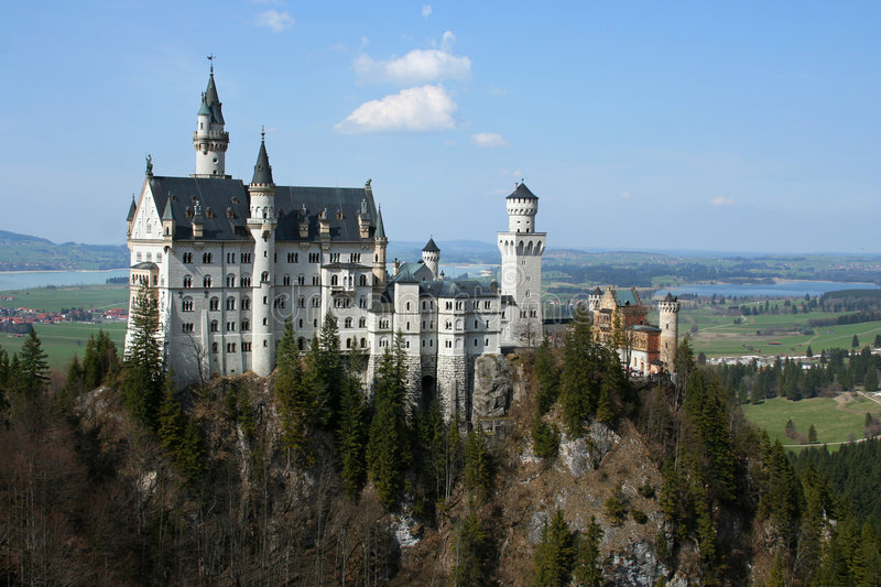 Download Neuschwanstein Castle stock photo. Image of rich, palace - 786836