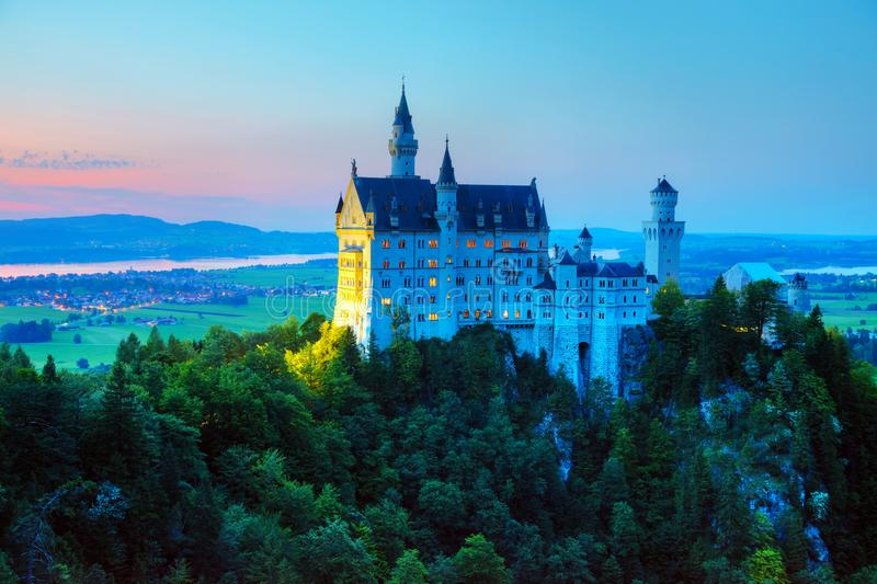 Download Neuschwanstein Castle In Bavaria, Germany Stock Photo - Image of famous, fairy: 108844984