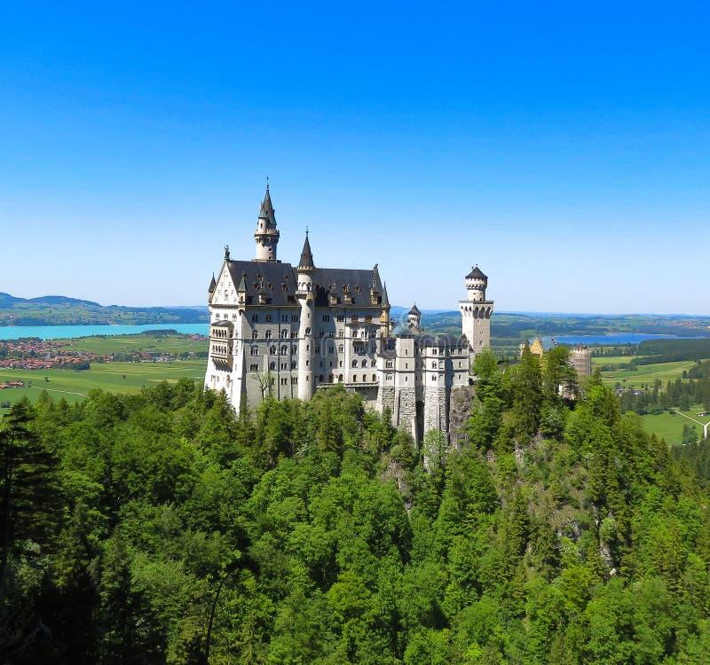 Neuschwanstein Castle in Bavaria Germany royalty free stock photos