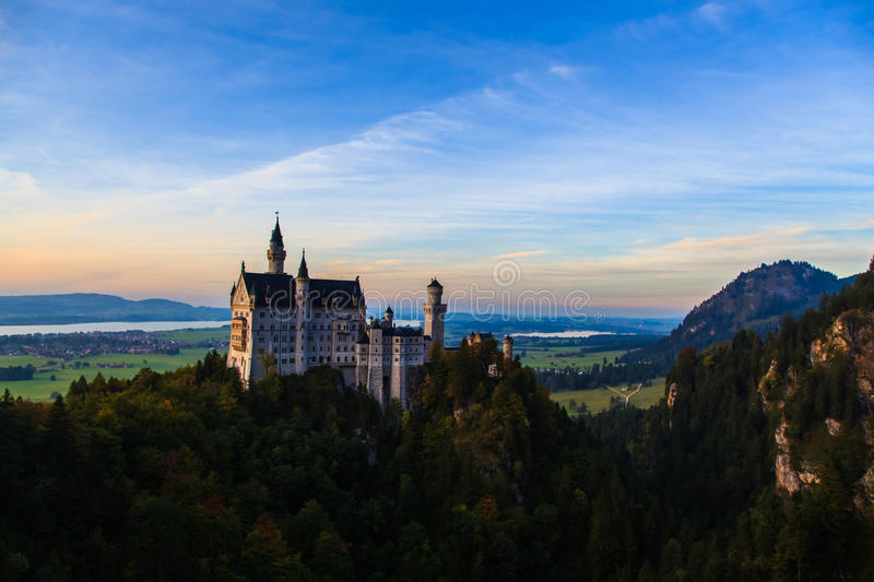 Download Neuschwanstein Castle stock image. Image of lake, europe - 39171307