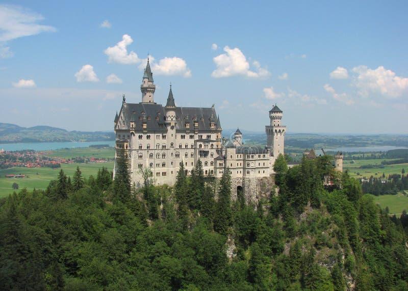 Neuschwanstein Castle, Fussen, Βαυαρία, Γερμανία στοκ φωτογραφίες με δικαίωμα ελεύθερης χρήσης