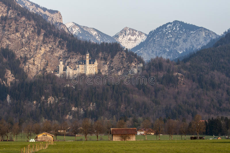 Neuschwanstein Castle Fussen Germany Royalty Free Stock Photography