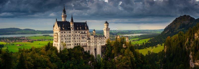 Neuschwanstein Castle in Fussen, Germany royalty free stock photo