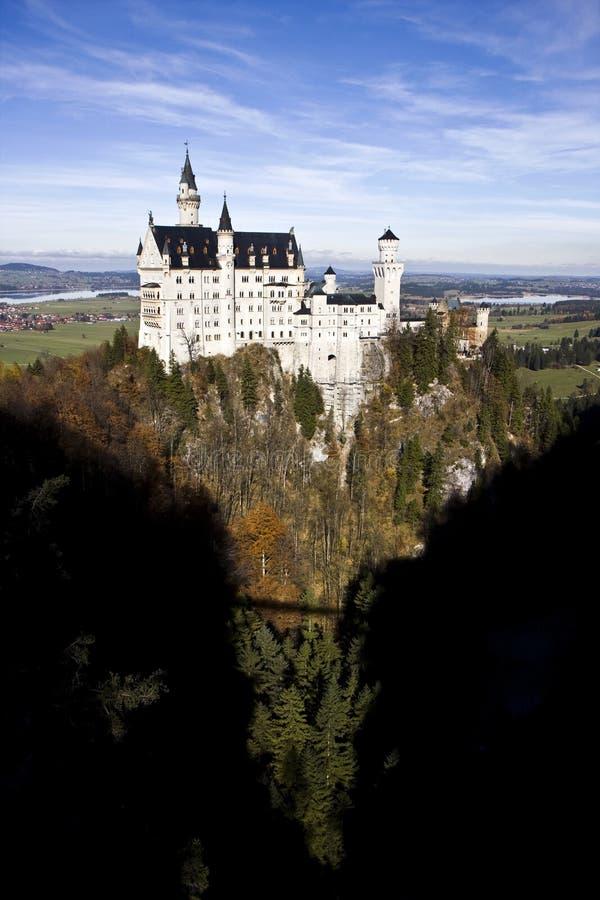 Neuschwanstein castle in Germany. Neuschwanstein castle in Bavaria, Germany stock images