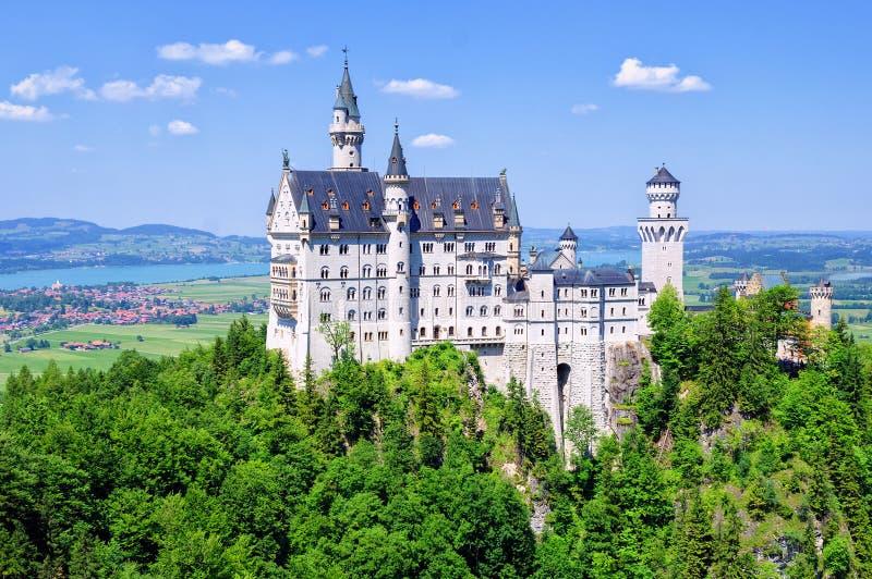 Neuschwanstein Castle, Germany royalty free stock photo