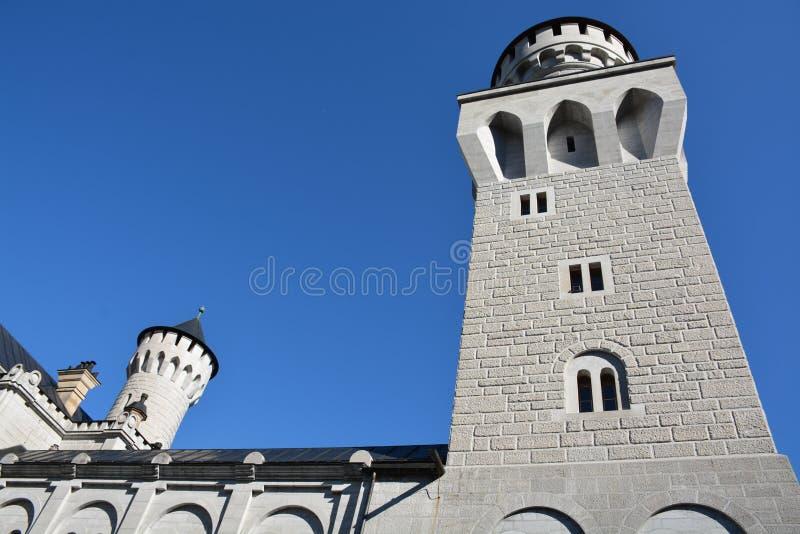 Neuschwanstein Castle, Schwangau, Germany - 31 July 2015 royalty free stock photography