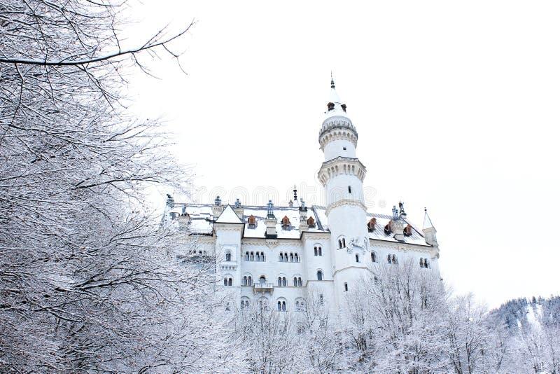 Neuschwanstein slott arkivbilder