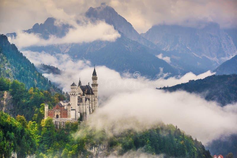 Neuschwanstein slott arkivbild