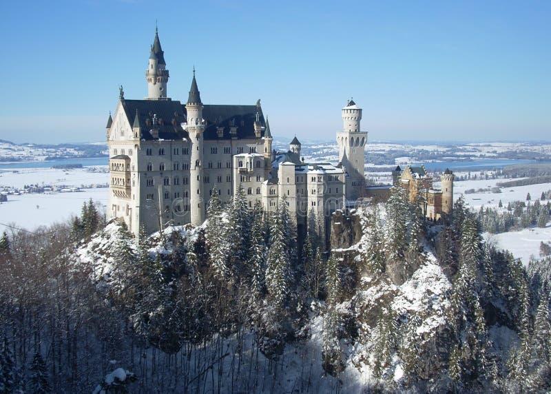 Neuschwanstein slott royaltyfria foton